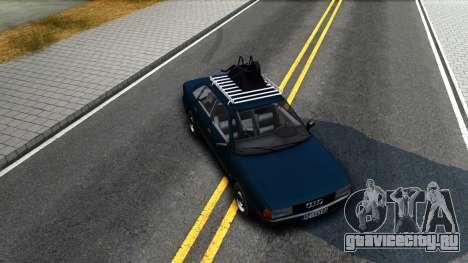 Audi 80 B3 для GTA San Andreas вид изнутри