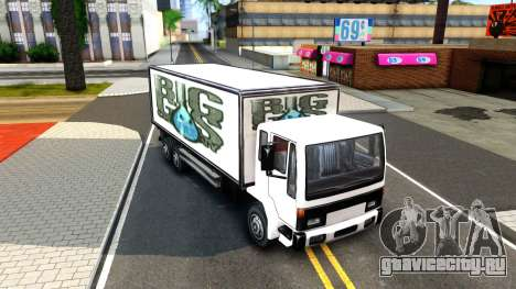 DFT-30 Box Truck для GTA San Andreas вид слева