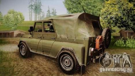 УАЗ-3151 CoD4 MW Remastered для GTA San Andreas вид слева