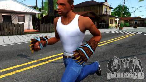 Blue Bear Claws Team Fortress 2 для GTA San Andreas