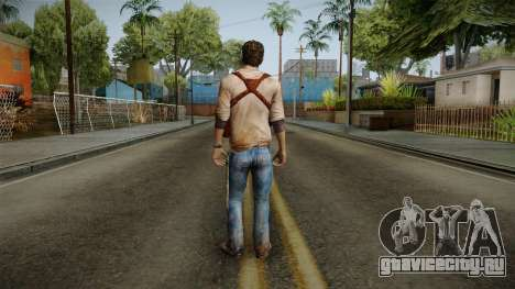 Uncharted Golden Abyss - Nathan Drake для GTA San Andreas третий скриншот
