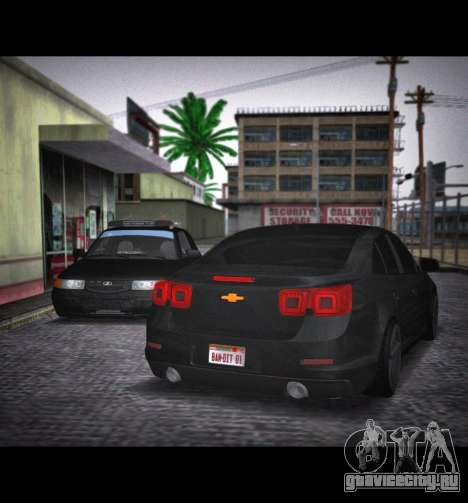 Chevrolet Malibu для GTA San Andreas вид слева