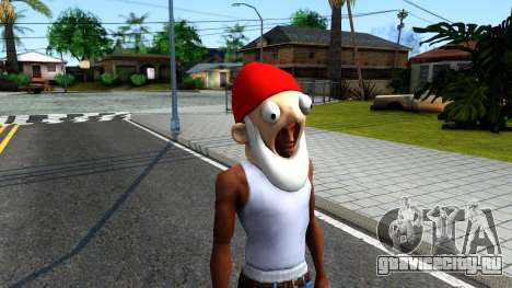 Gnome Mask From The Sims 3 для GTA San Andreas второй скриншот