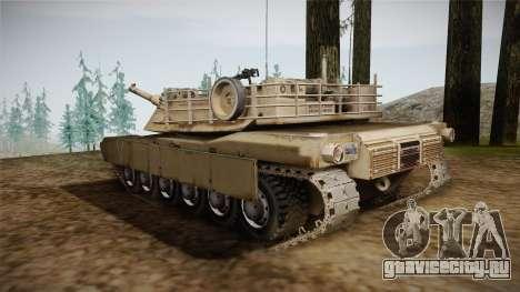 Abrams Tank для GTA San Andreas вид слева