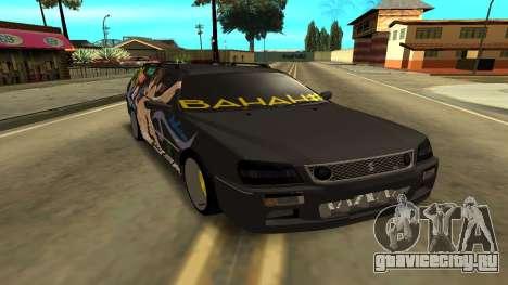 Subaru для GTA San Andreas