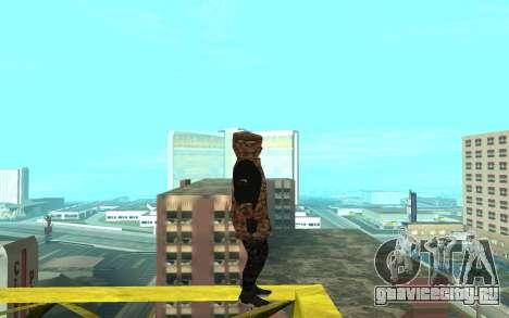 Grove Street Gang для GTA San Andreas второй скриншот