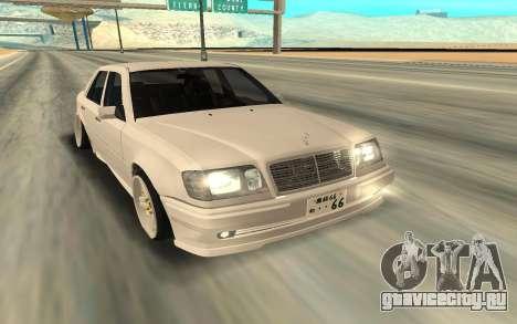 Mercedes-Benz 200 для GTA San Andreas