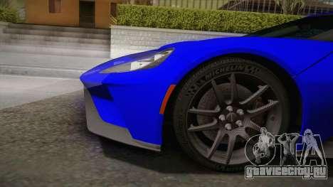 Ford GT 2017 для GTA San Andreas