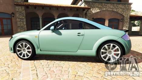 Audi TT (8N) 2004 v1.1 [add-on] для GTA 5 вид слева