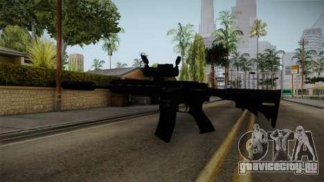 HK416 v4 для GTA San Andreas третий скриншот