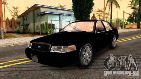 Ford Crown Victoria Detective 2008 для GTA San Andreas