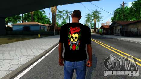 Bullet For My Valentine T-shirt для GTA San Andreas третий скриншот
