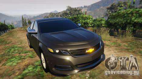 Chevrolet Impala 2015 для GTA 5 вид сзади справа