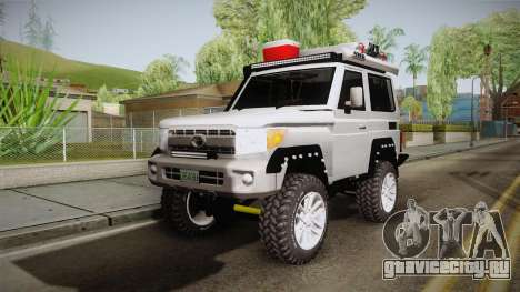 Toyota Land Cruiser Machito 2013 Sound Y для GTA San Andreas