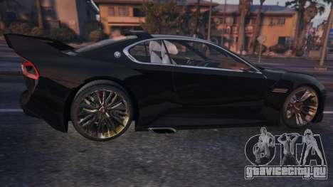 BMW 3.0 CSL Hommage R Concept для GTA 5 вид сзади слева
