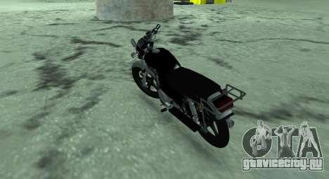 Мопед Альфа v.0.1 для GTA San Andreas вид сзади слева
