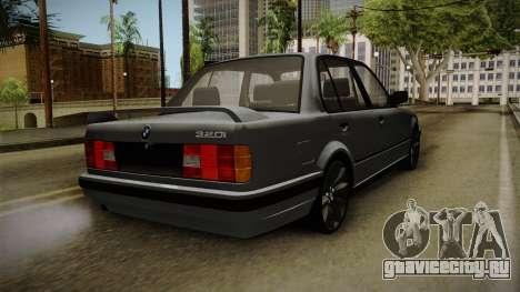 BMW M3 E30 Edit v1.0 для GTA San Andreas вид сзади слева