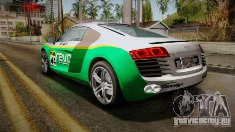 Audi R8 Coupe 4.2 FSI quattro EU-Spec 2008 Dirt для GTA San Andreas колёса