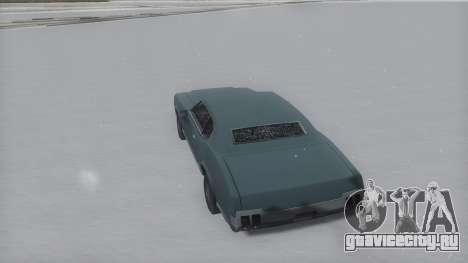 Sabre Winter IVF для GTA San Andreas вид слева