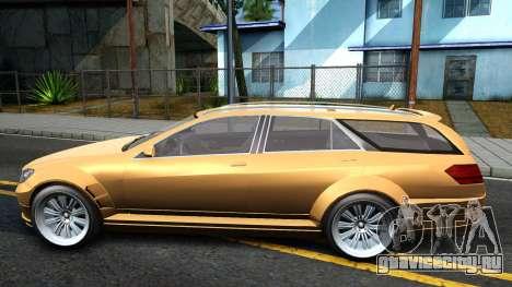 GTA V Benefactor Schafter Wagon для GTA San Andreas вид слева