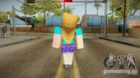 Minecraft - Stephanie для GTA San Andreas