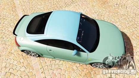 Audi TT (8N) 2004 v1.1 [add-on] для GTA 5 вид сзади