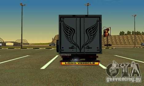 Газель Фермер v2 для GTA San Andreas вид справа