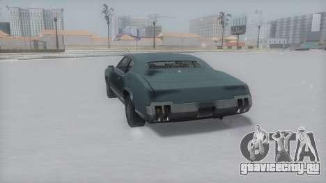 Sabre Winter IVF для GTA San Andreas вид сзади слева