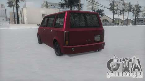 Moonbeam Winter IVF для GTA San Andreas вид слева