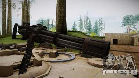 Abrams Tank для GTA San Andreas вид сзади