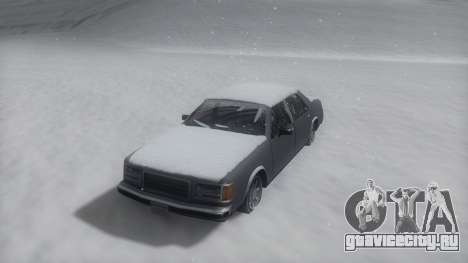 Washington Winter IVF для GTA San Andreas