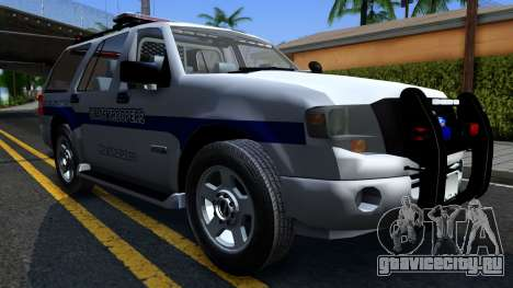 Ford Expedition SAST CVE 2008 для GTA San Andreas вид сзади