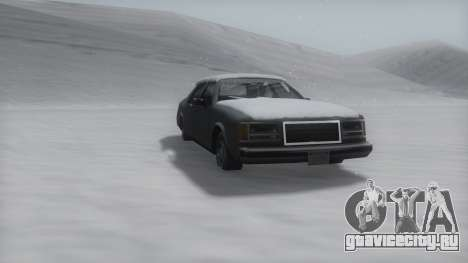 Washington Winter IVF для GTA San Andreas вид слева