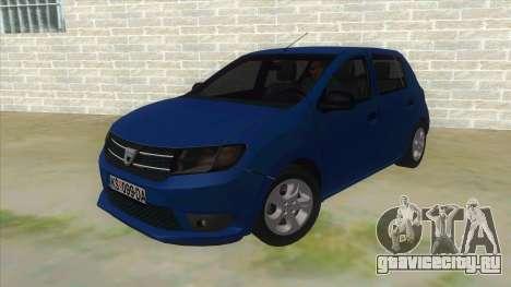 2016 Dacia Sandero для GTA San Andreas