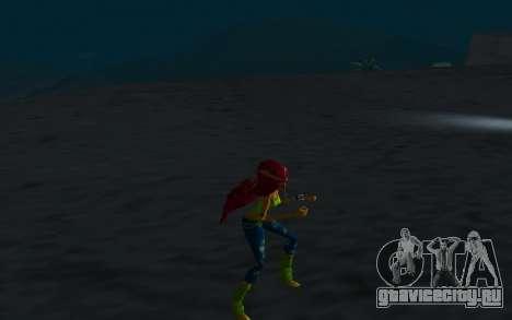 Aisha Rock Outfit from Winx Club Rockstars для GTA San Andreas четвёртый скриншот