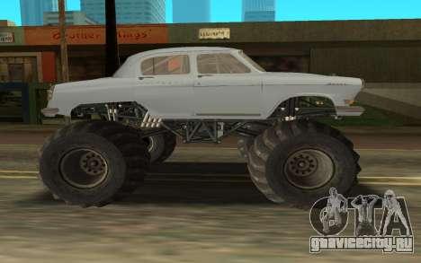 Volga GAZ21 для GTA San Andreas вид сзади слева