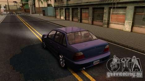 Daewoo Cielo 2001 для GTA San Andreas вид сзади слева