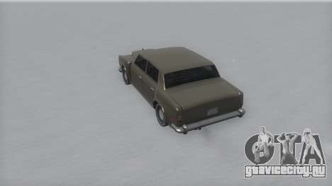 Stafford Winter IVF для GTA San Andreas вид справа