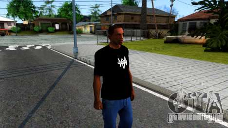 T-Shirt Watch Dogs 2 для GTA San Andreas