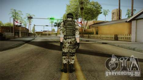 Resident Evil ORC Spec Ops v5 для GTA San Andreas третий скриншот