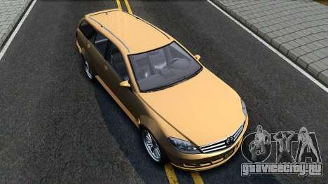 GTA V Benefactor Schafter Wagon для GTA San Andreas вид справа