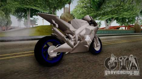 Dark Light Motorcycle для GTA San Andreas вид слева