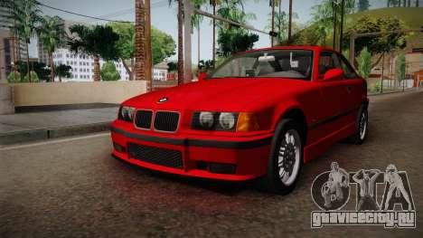 BMW 328i E36 Coupe для GTA San Andreas вид справа