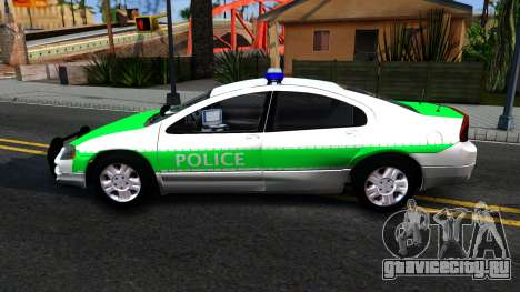 Dodge Intrepid German Police 2003 для GTA San Andreas вид слева