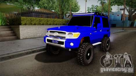 Toyota Macho 2015 Off Road для GTA San Andreas
