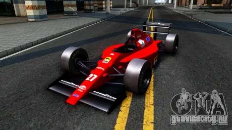 Ferrari 640 F1 1989 для GTA San Andreas