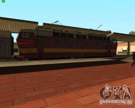 Пассажирский локомотив ЧС4т-521 для GTA San Andreas вид слева