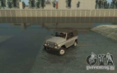 УАЗ 469 (Paul Black prod.) для GTA 4 вид сбоку