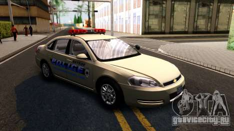 2007 Chevy Impala Bayside Police для GTA San Andreas