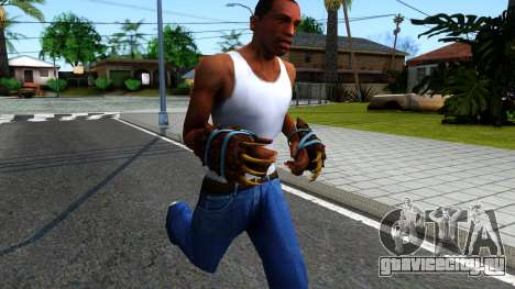 Blue Bear Claws Team Fortress 2 для GTA San Andreas второй скриншот